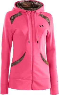New for spring: the Under Armour® Women's Outdoor Storm Full-Zip Hoodie.