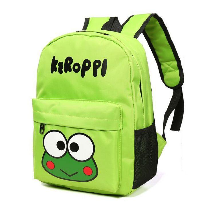 Cute New Frog Prints Girls School Bag Boys Backpack Children Cartoon School Bags Backpacks Baby Child Infantil Escolar