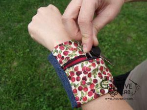 Ecco un #tutorial per realizzare un #portafoglio da #polso fai da te! Perfetto per fare #sport e per avere le mani libere senza portarsi dietro zaini o borse!