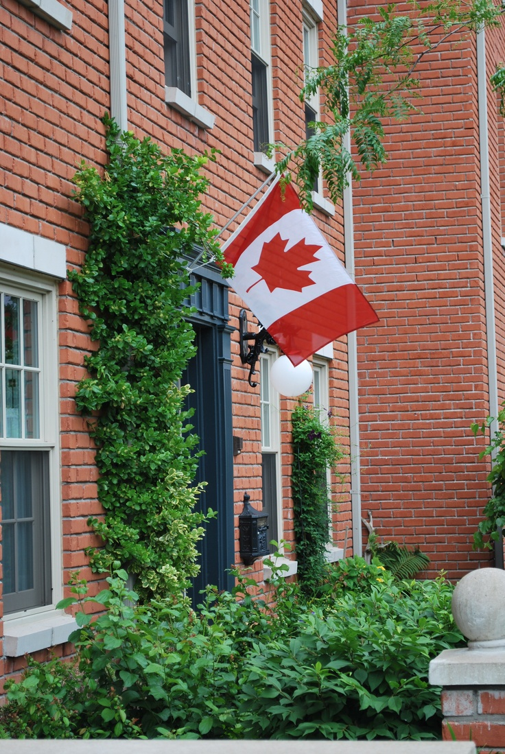 Canada Day Cobourg style - Old Omi and Opi lived there.