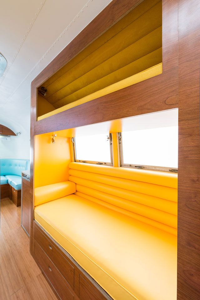 Airstreams  amp  Boats on Pinterest   Boat interior  Boats and Seattle