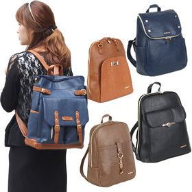 Gmarket - Squared backpacks / zip around / casual / floral /