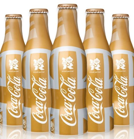 Available exclusively at Selfridges, Coca-Cola has created a limited edition bottle in celebration of the London 2012 Olympic Games