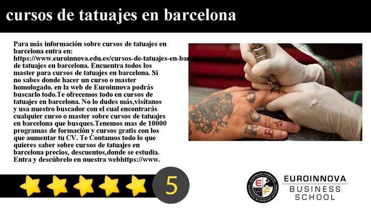 cursos de tatuajes en barcelona - Para más información sobre cursos de tatuajes en barcelona entra en: https://www.euroinnova.edu.es/cursos-de-tatuajes-en-barcelona.    cursos de tatuajes en barcelona. Encuentra todos los master para cursos de tatuajes en barcelona. Si no sabes donde hacer un curso o master homologado. en la web de Euroinnova podrás buscarlo todo.    Te ofrecemos todo en cursos de tatuajes en barcelona. No lo dudes másvisítanos y usa nuestro buscador con el cual encontrarás…