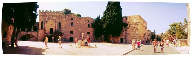 The Medieval City of Rhodes, once the Grand Master and Knights of St.John home, until Suleiman took it over!