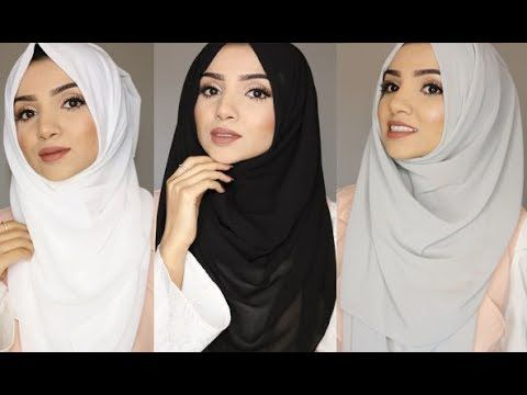 SIMPLE FULL COVERAGE HIJAB STYLES - YouTube