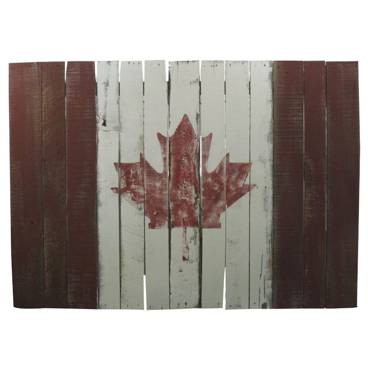 Wall Art - Canada Flag - High Quality Outdoor and Casual Furniture - Buy online or in Burlington, Mississauga, London, Waterloo,…