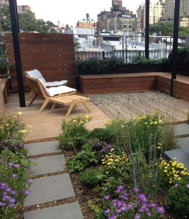 trockenheitliebende Pflanzen für die Dachterrasse in der Stadt