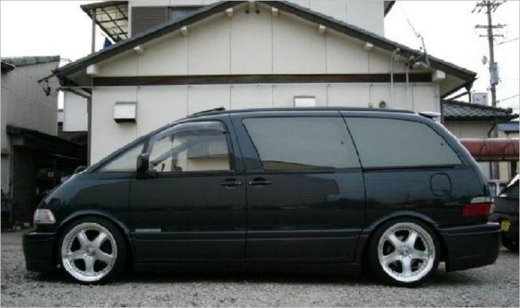 1997 Toyota Previa LE SC minivan. Supercharged! And possibly AWD.