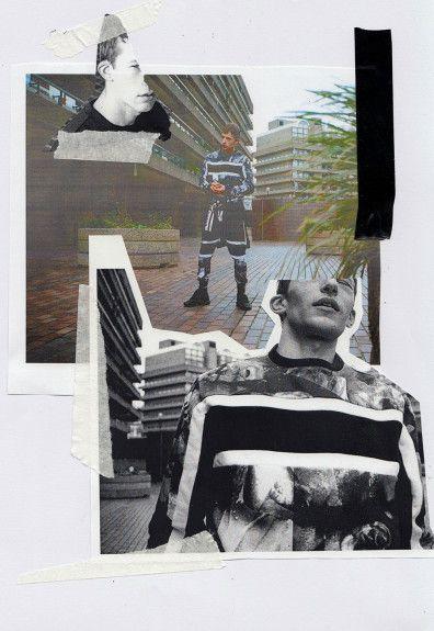 Edit description IKIGARMENTS — Bazar 14 AW15 sick lookbook!!! Collage fashion