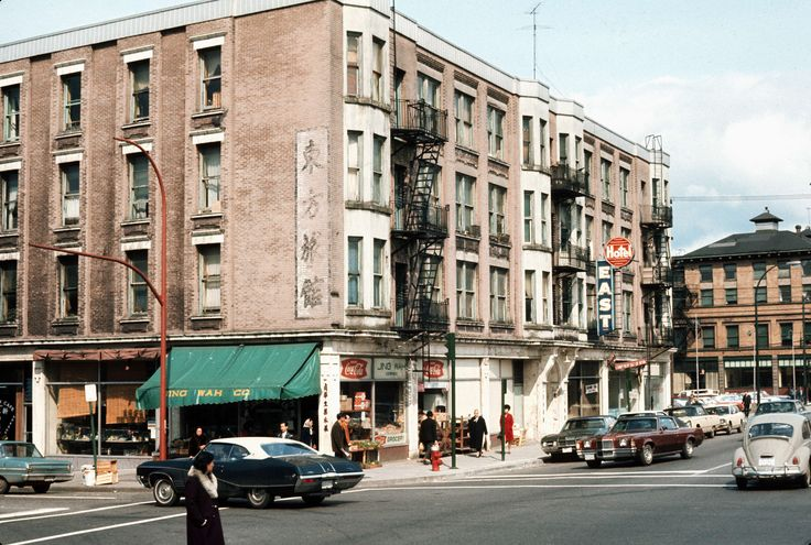 East Hotel at 445 Gore Avenue, 1971. (Photo via Vancouver Archives)