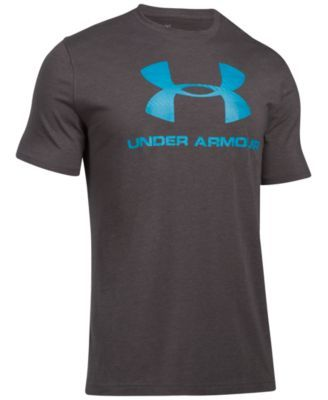 UNDER ARMOUR Under Armour Men's Sportstyle Logo T-Shirt. #underarmour #cloth #shirts