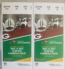 Green Bay Packers vs Tampa Bay Buccaneers 12/3/17
