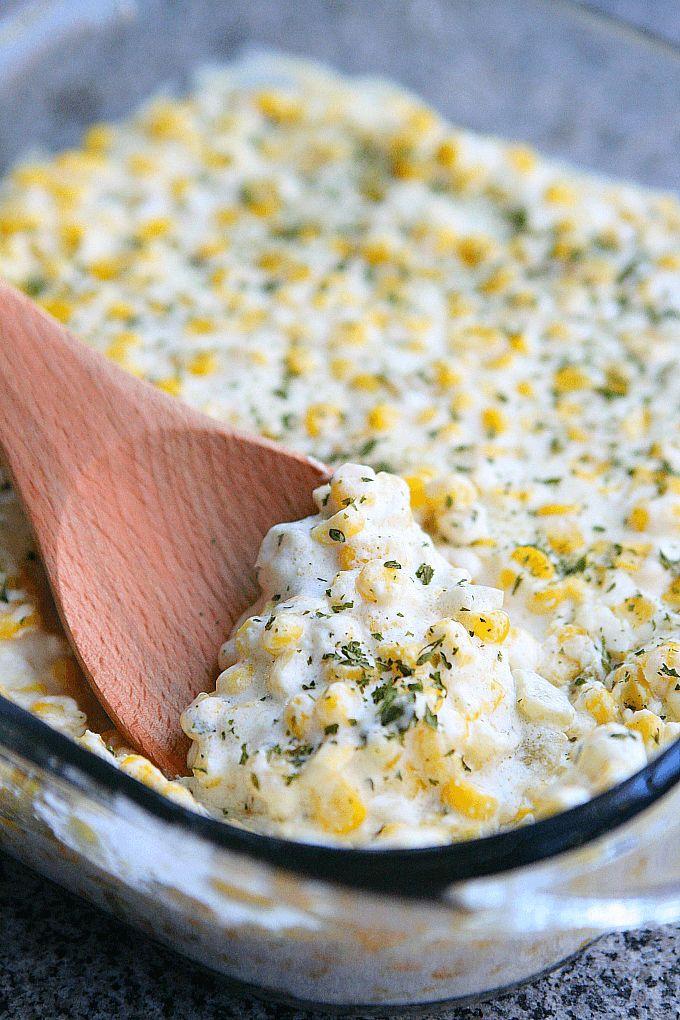 Green Chili Corn Casserole