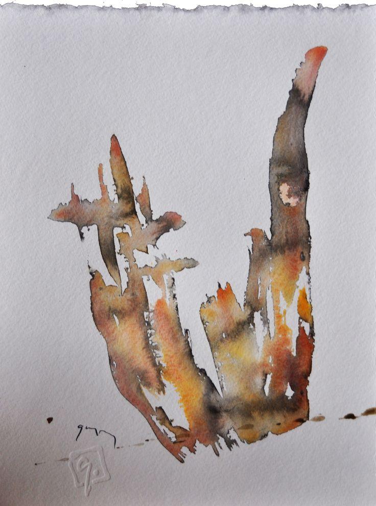 Haraszti lap No 14. (akv,tus,karton, 32x24 cm)