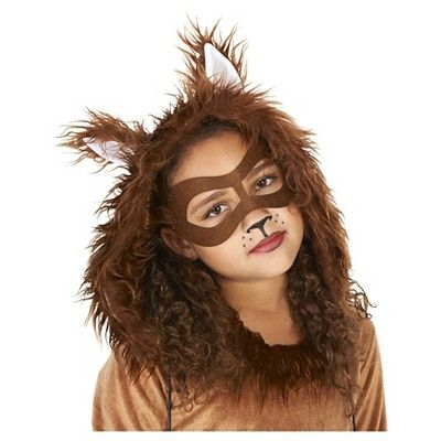 Sweet Fox Tween Costume - S(4-6), Girl's, Brown