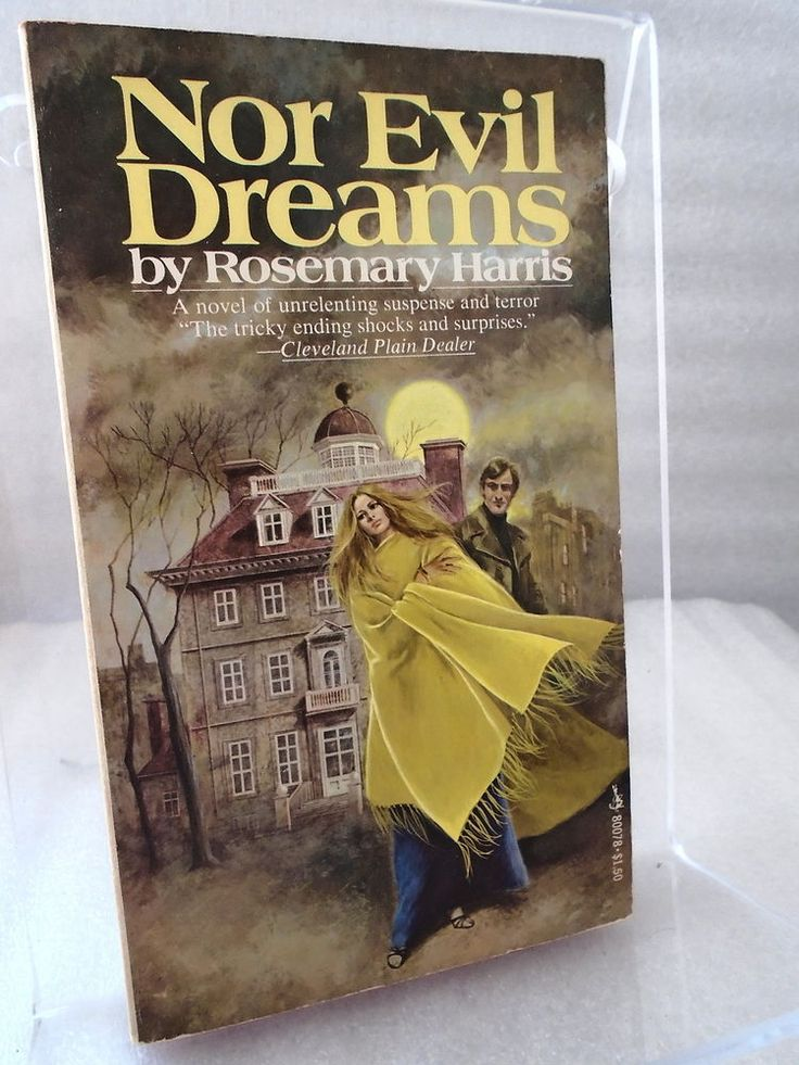 Nor Evil Dreams by Rosemary Harris (1975) Pocket Books Paperback VG Cond Gothic