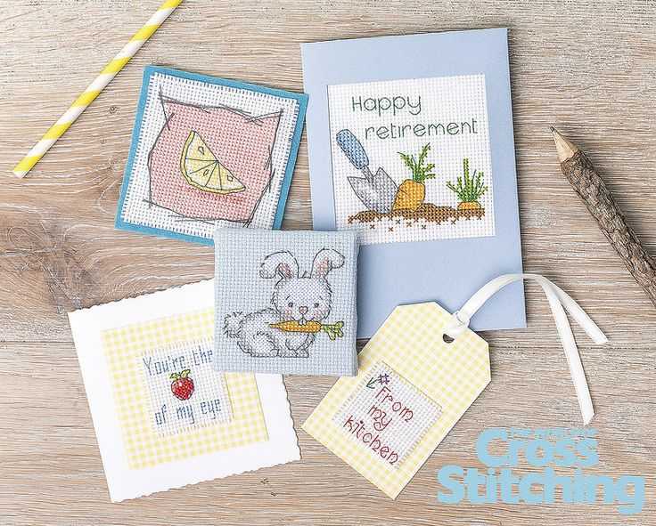 Five a Day Bunny The World of Cross Stitching Issue 220 October 2014 Saved