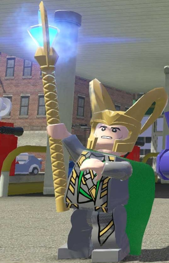 Lego Loki Gets Ready To Cause Destruction ~ Oh, How Fun!