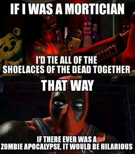 Is Deadpool funny? Tap to see more humor quotes from #Deadpool. - @mobile9