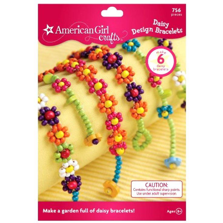 American Girl Crafts, Bracelets Kids, Bracelet Kit, Jewlery Making Kit, DIY Kit #AmericanGirlCrafts