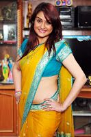 Sonia Agarwal Latest Saree Pics