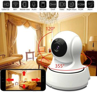 Buy Mini HD Wireless IP Camera Wifi 720P Smart IR-Cut Night Vision P2P Baby Monitor Surveillance Onvif Network CCTV Security Camera online at Lazada. Discount prices and promotional sale on all. Free Shipping.
