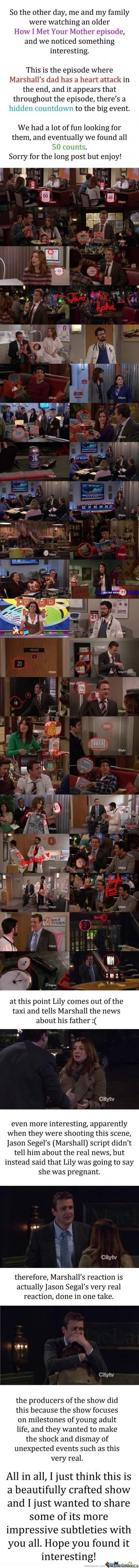 How I met your mother countdown I caught most of them while watching