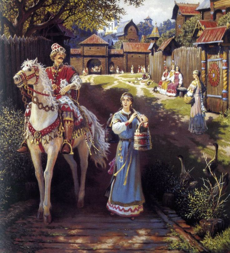 Ancient Russia-nearly as fairy tale