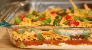 Cream Cheese Salsa Chip Dip Recipe by HODABFLY via @SparkPeople