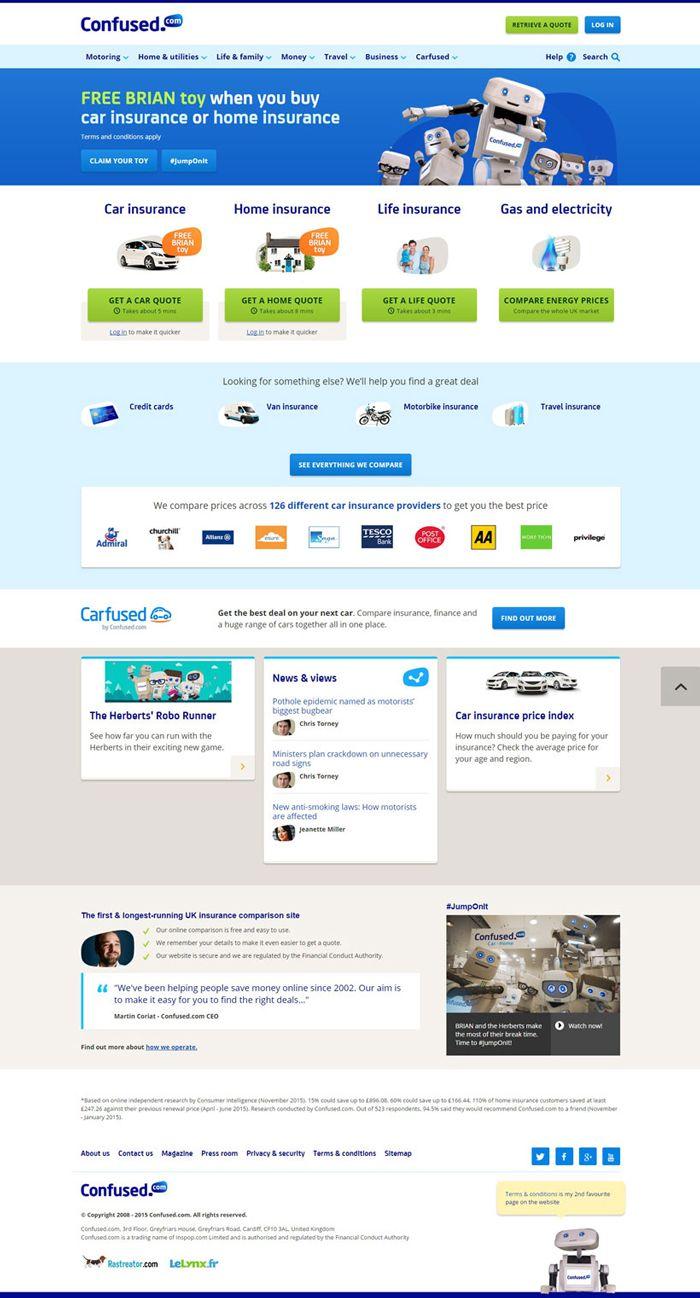 26 Excellent Insurance Websites Inspiration Travel Money