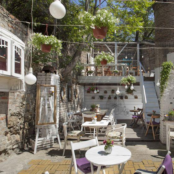 Belgrade jazz bar riffs on summer vibes with its fanciful urban wonderland...  http://www.weheart.co.uk/2014/06/18/jazz-basta-belgrade/