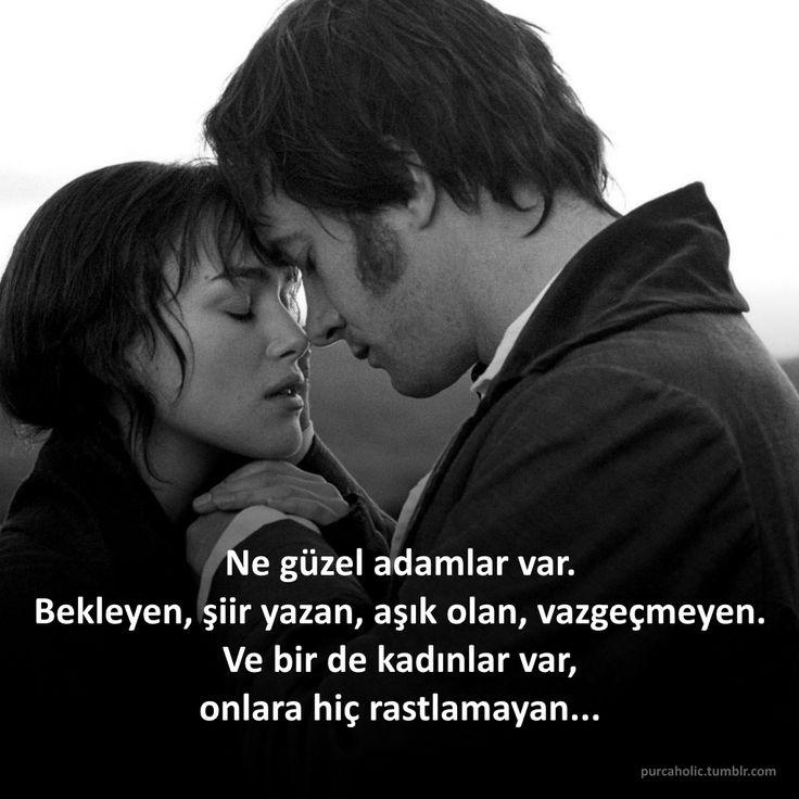 Ne güzel adamlar var. Bekleyen, şiir yazan, aşık olan, vazgeçmeyen. Ve bir de kadınlar var, onlara hiç rastlamayan... #sözler #anlamlısözler #güzelsözler #özlüsözler #alıntı #alıntılar #alıntıdır #alıntısözler #adam #kadın #şiir #aşk