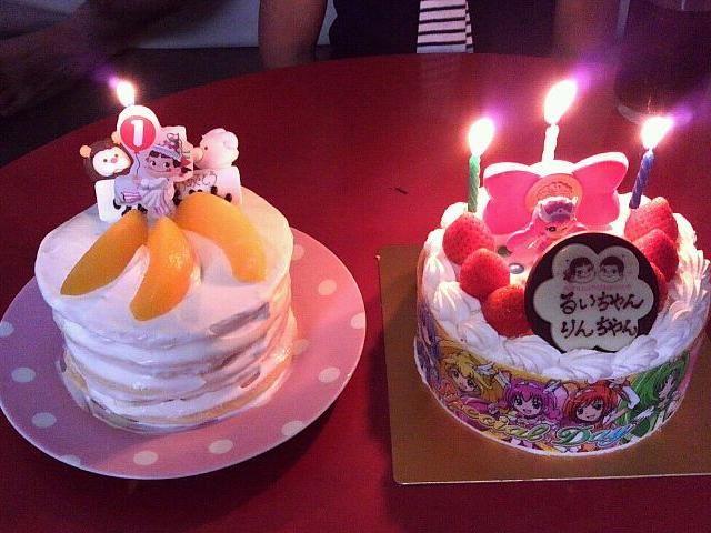 三女のは手作り離乳食ケーキ♡ - 21件のもぐもぐ - 三女の1歳と次女の3歳のバースデーケーキ♡ by 美緒たそ