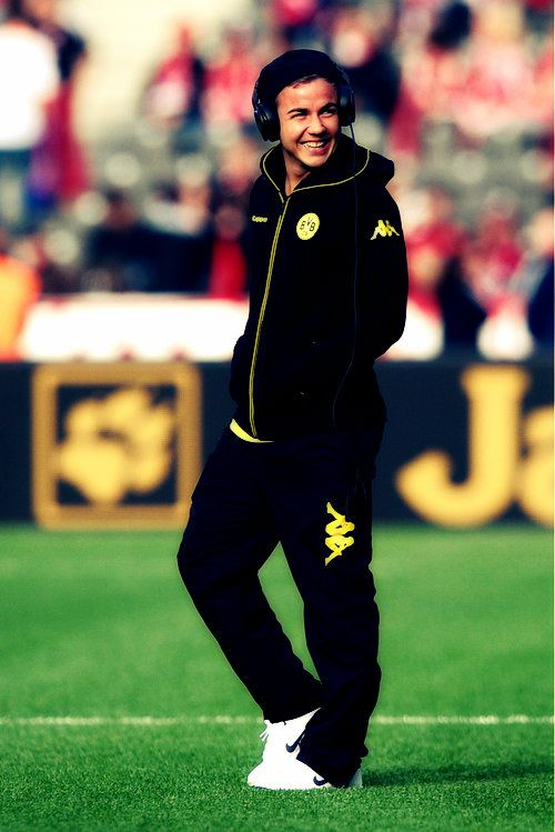 Mario Götze // slowly fallin in love with this kid