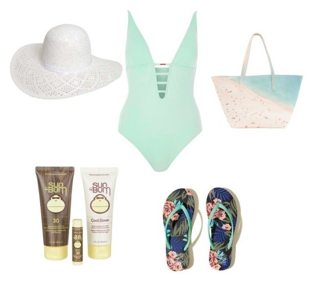 """""Mint"" to Be"" by elsmith2395 ❤ liked on Polyvore featuring River Island, Dorothy Perkins, Hollister Co., Sun Bum and Paige Gamble"