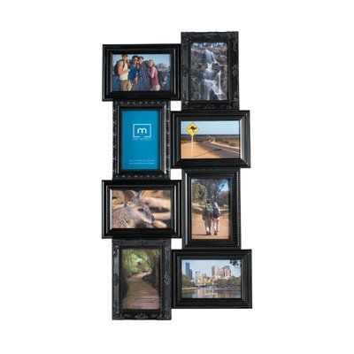 alcott hill 8 opening multi profile collage picture frame
