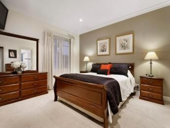 Best Bedroom Color Schemes And Feature Walls Images On - Bedroom feature wall ideas