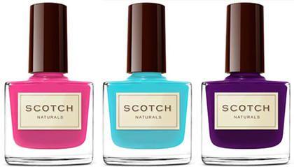 Scotch Naturals Non-Toxic Nail Polish is a safe nail polish for pregnant women   Nourished Life