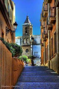 Walkway leading to the Iglesia de la 'O', Rota, Spain. My dream naval base. God I hope we PCS here!