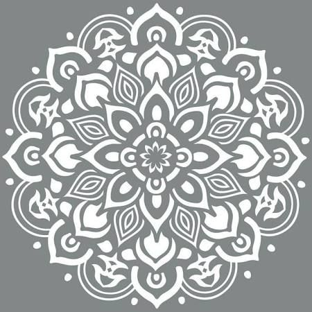 mandala stencils for furniture - Google Search                                                                                                                                                                                 More