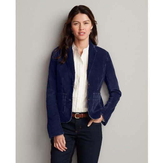 Corduroy Blazer Womens - Trendy Clothes