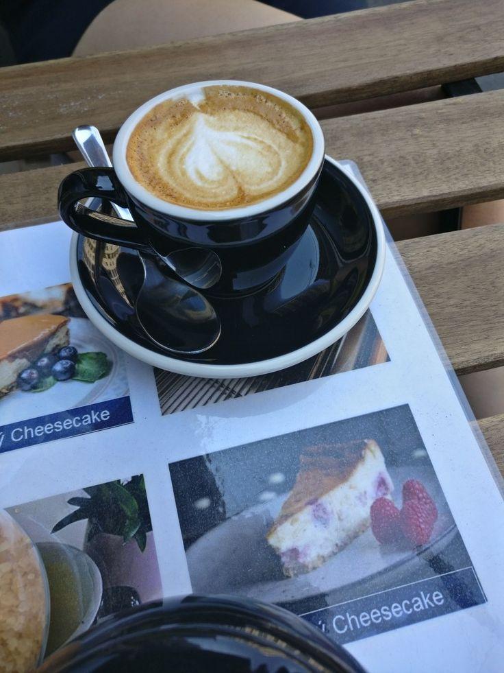 Macchiato at Bean Spot Specialty Coffee Shop in Bratislava