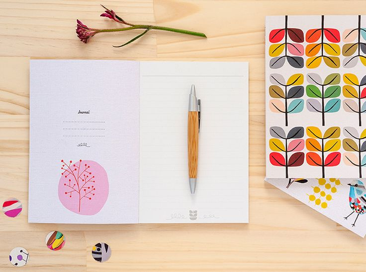 Journals designed by Inaluxe for Earth Greetings