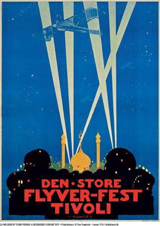 Tivoli 1916 plakat - Jensen - Retro plakater - Permild & Rosengreen