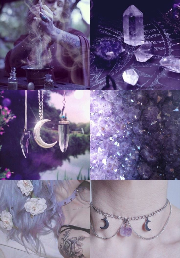 """positivelypagan: """"Crystal Witch Aesthetic """""""