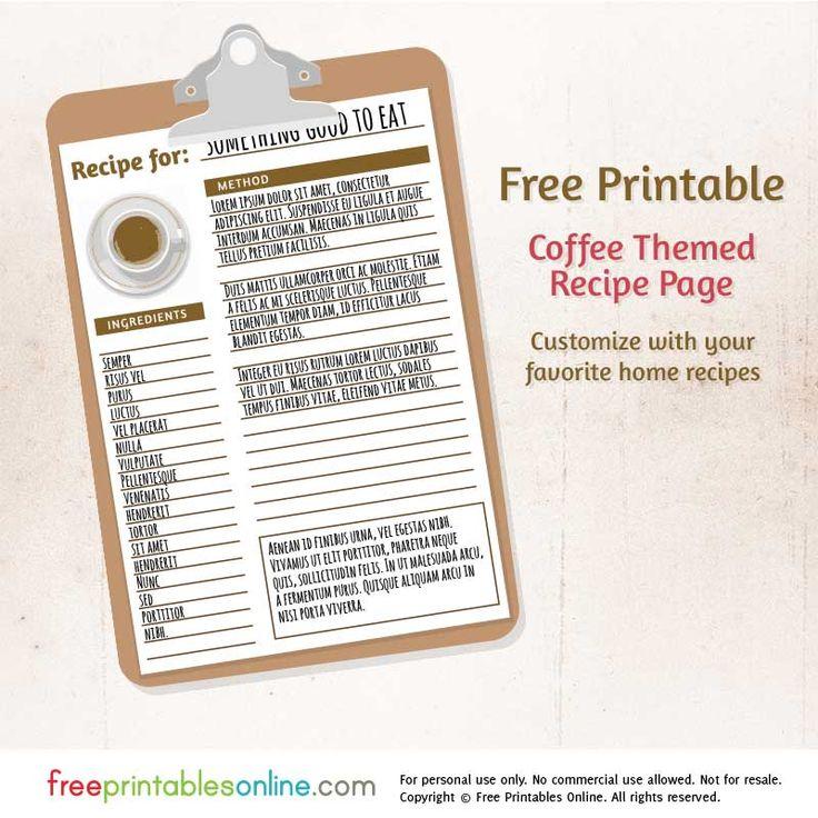 246 best recipe cookbook ideas images on Pinterest | Cookbook ...
