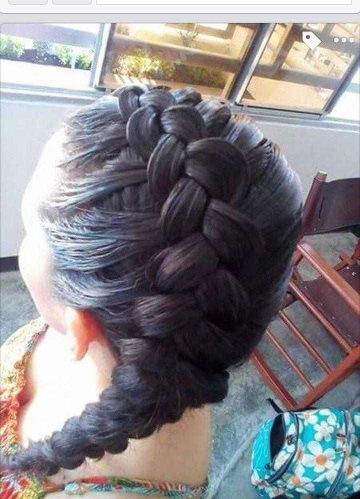 Trenza riñón cabello completo