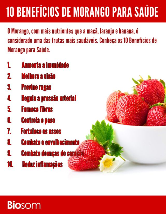 Clique na imagem para ver os 10 benefícios incríveis do morango para saúde…