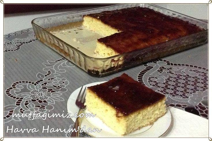 trileçe tatlısı tarifi   mutfagimiz.com